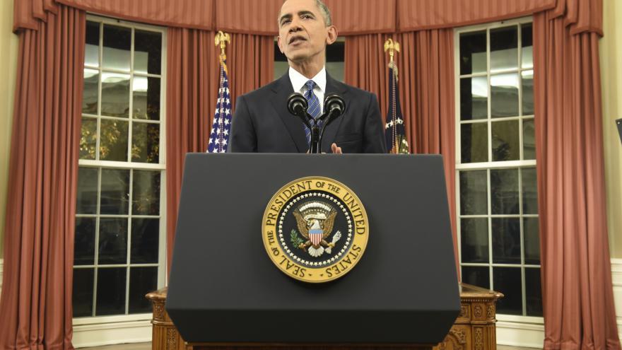 Video Zničíme IS, slíbil Obama Američanům po teroru v San Bernardinu