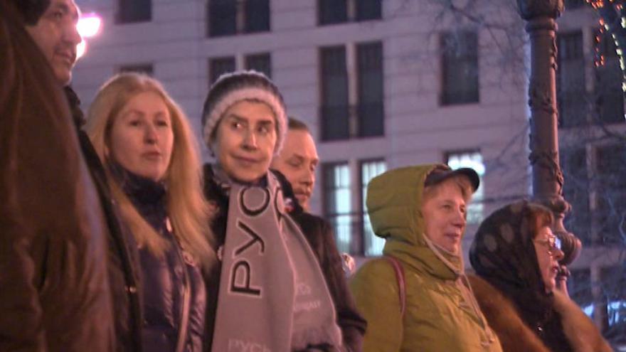 Video Události: Tichý ruský protest za dodržování lidských práv