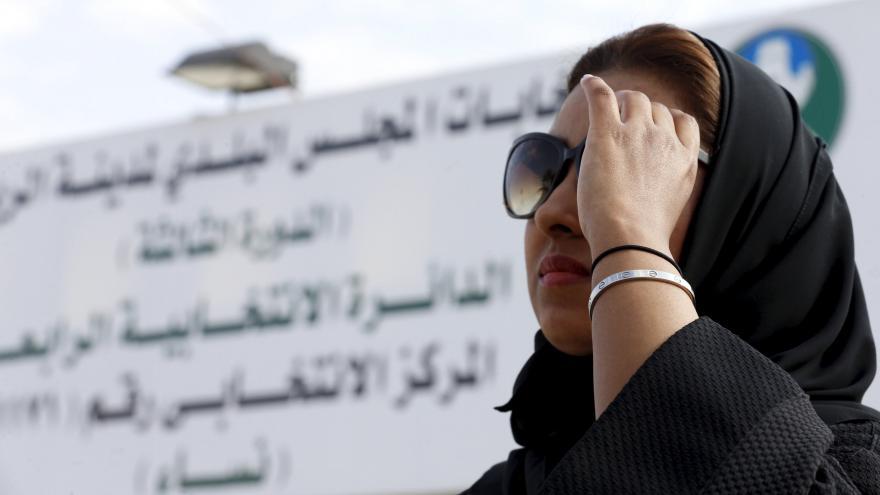 Video Saúdské ženy poprvé volily