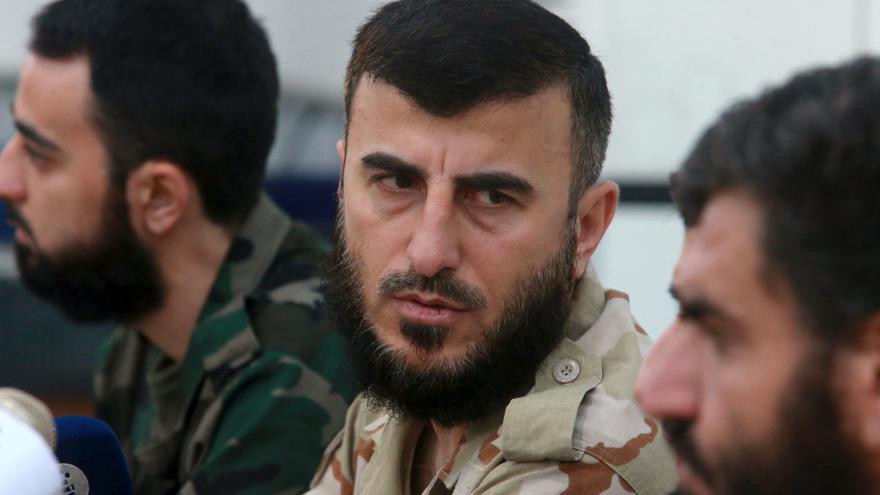 Video V Sýrii byl zabit lídr jedné z předních povstaleckých skupin