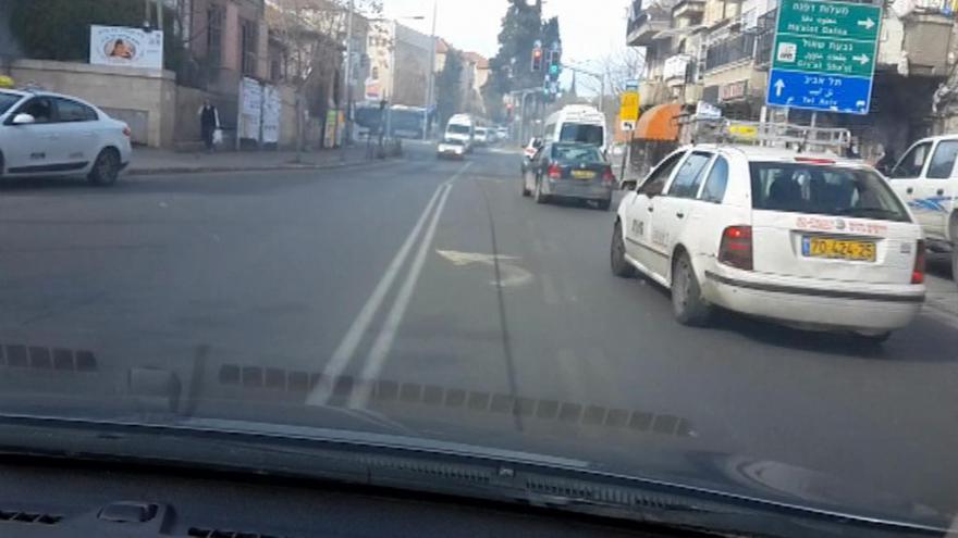 Video PODÍVEJTE SE: Štáb ČT zachytil policejní honičku v Jeruzalémě