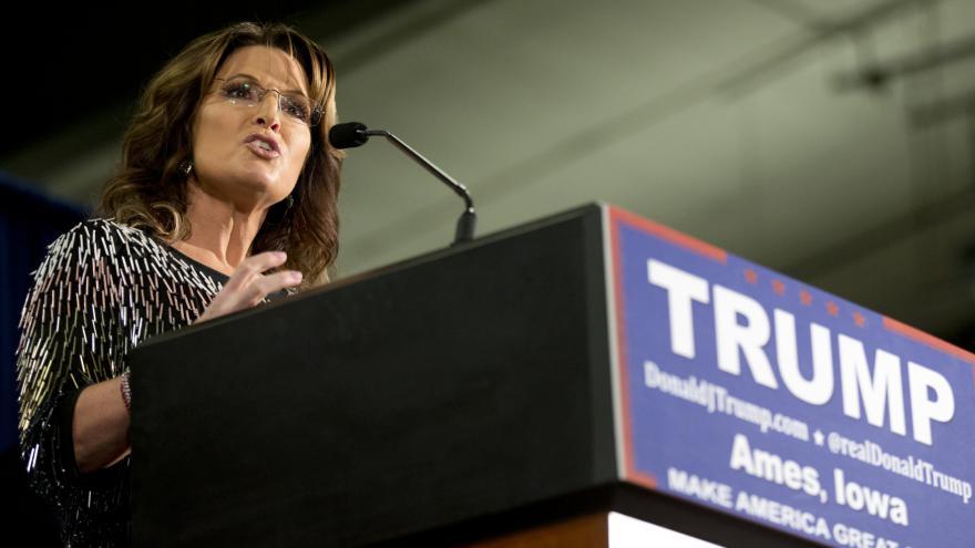 Video Palinová podpořila Trumpa v boji o Bílý dům