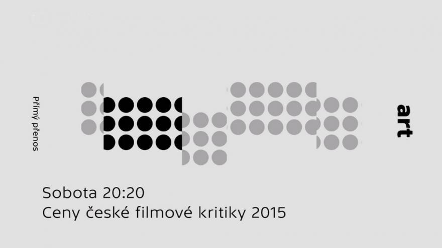 Video ŽIVĚ: Ceny české filmové kritiky za rok 2015