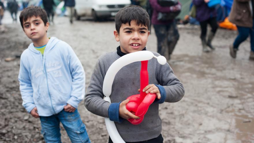 Video Studio ČT24: Podle fondu UNICEF tvoří nyní děti třetinu uprchlíků