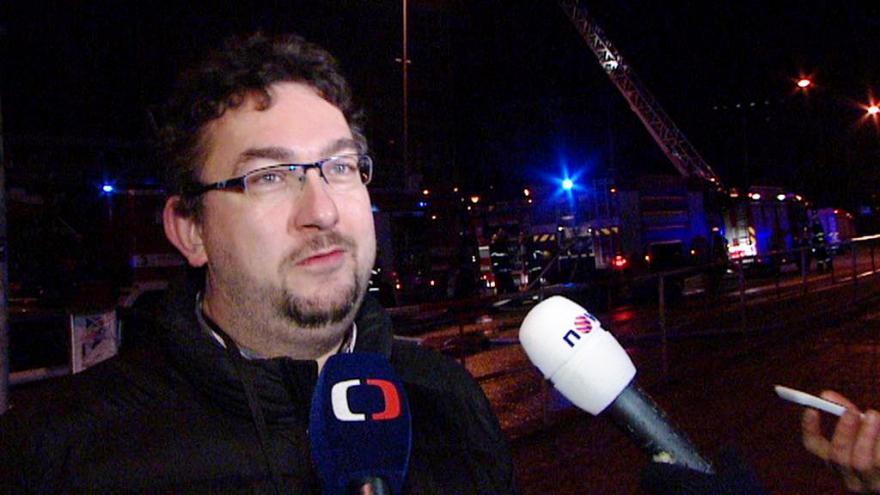Video Ředitel Lukeš: Budova je prázdná, před několika lety by byl požár větší problém