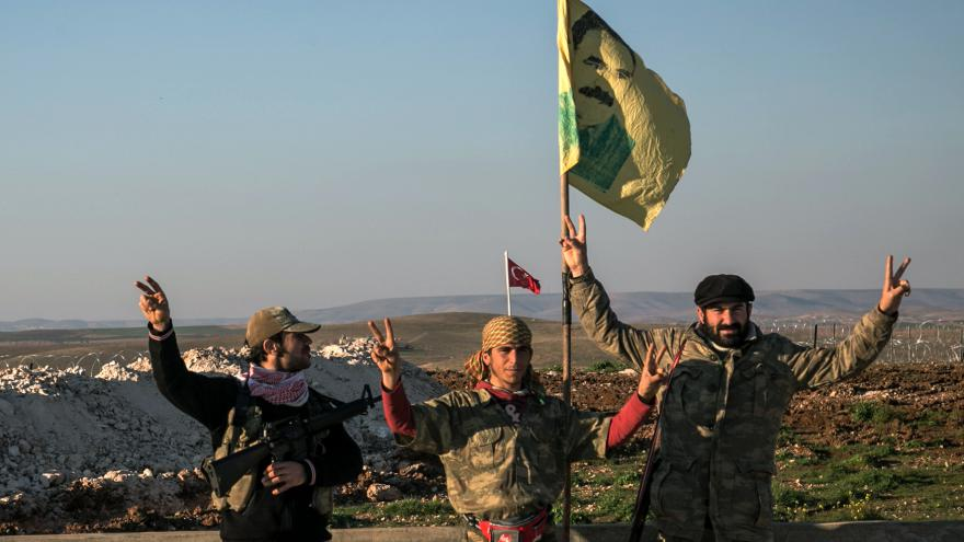 Video Syrská armáda útočí na Kurdy
