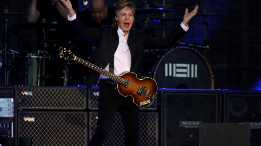 Video Upoutávka - Paul McCartney - koncert v Londýně