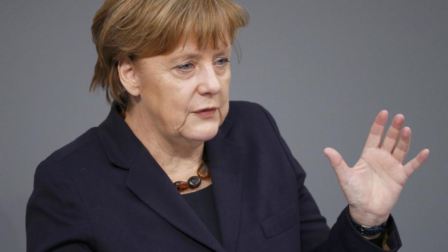 Video Projev Angely Merkelové před summitem EU