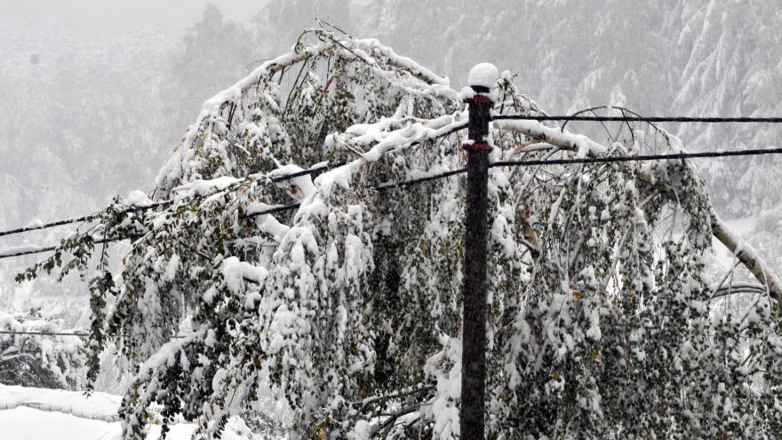 Video Zprávy: Stovky domácností stále bez proudu