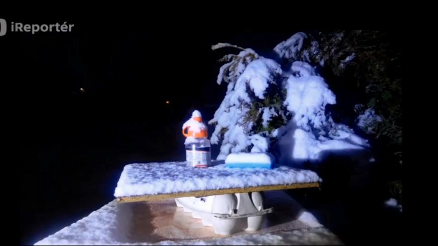 Video ireportér - sníh