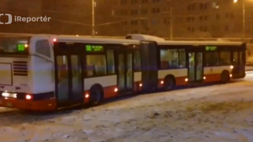 Video ireportér - bus v Řepích