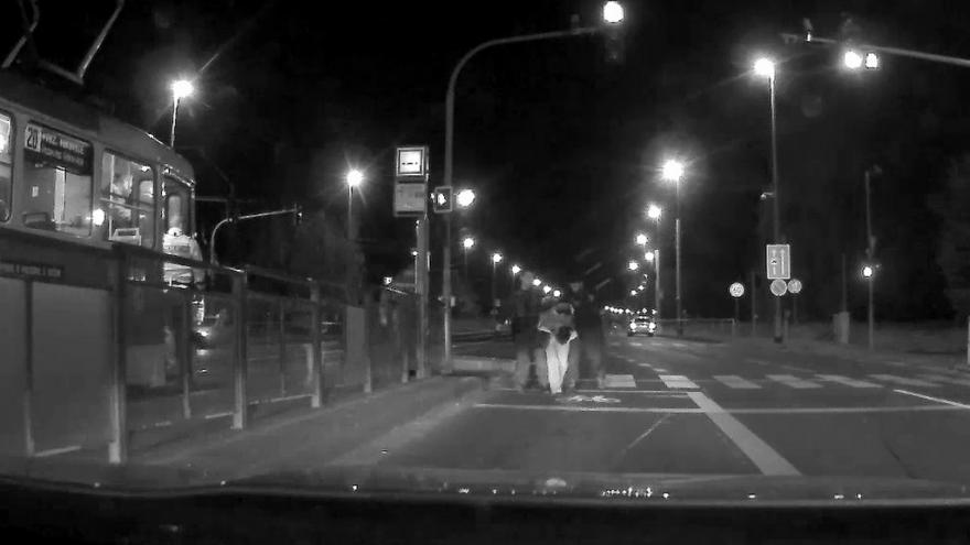 Video Zadržení lupičů v ulici Evropská