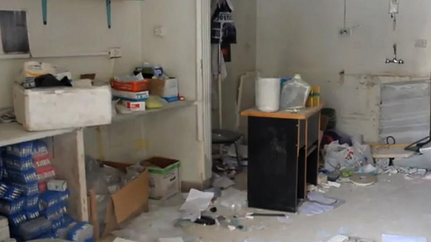 Video Další útok na nemocnici v Aleppu