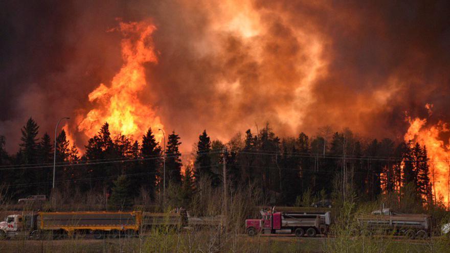 Video Reportáž: Kanadská Alberta v plamenech