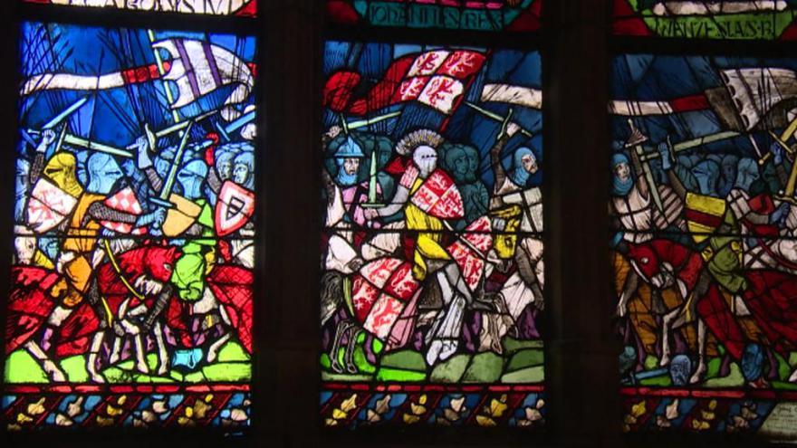 Video Krále Jana pohřbili v rodovém Lucemburku