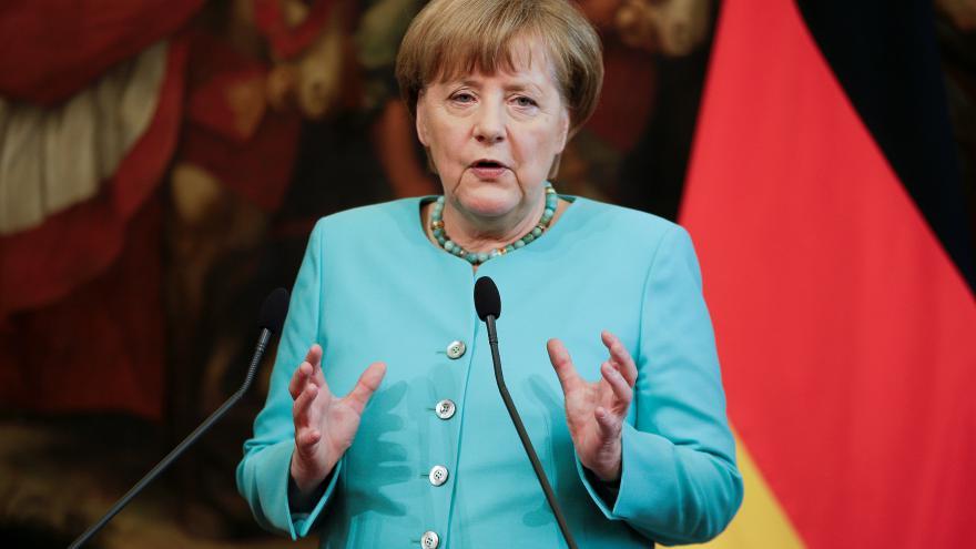 Video Angela Merkelová po hlasování o brexitu