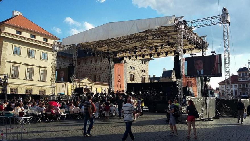 Video Česká filharmonie - open air 2016
