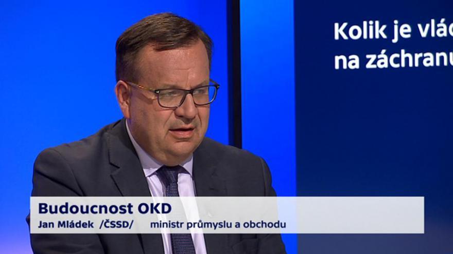 Video 90' ČT24 - Budoucnost OKD