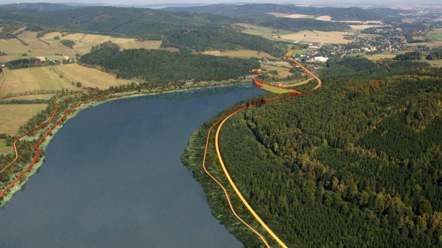 Video Problematická přehrada v Nových Heřminovech