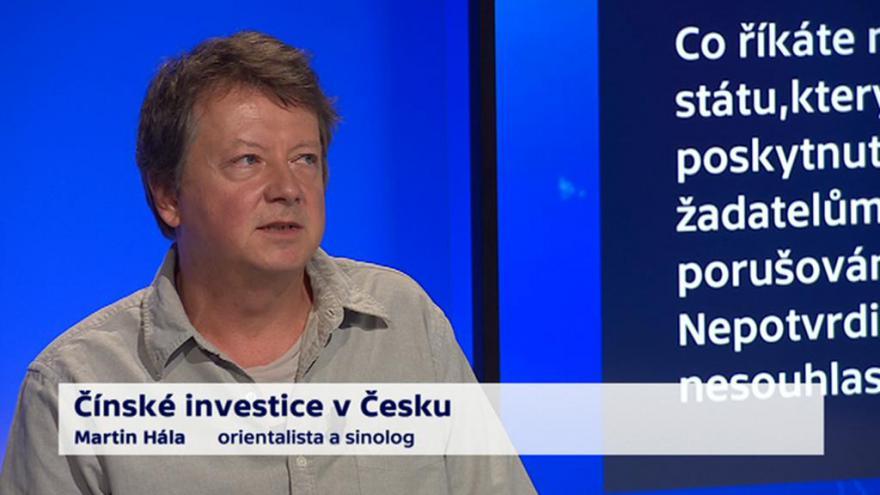 Video 90' ČT24 - Čínské investice v Česku
