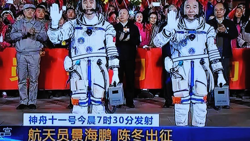 Video Barbora Šámalové o startu čínské rakety
