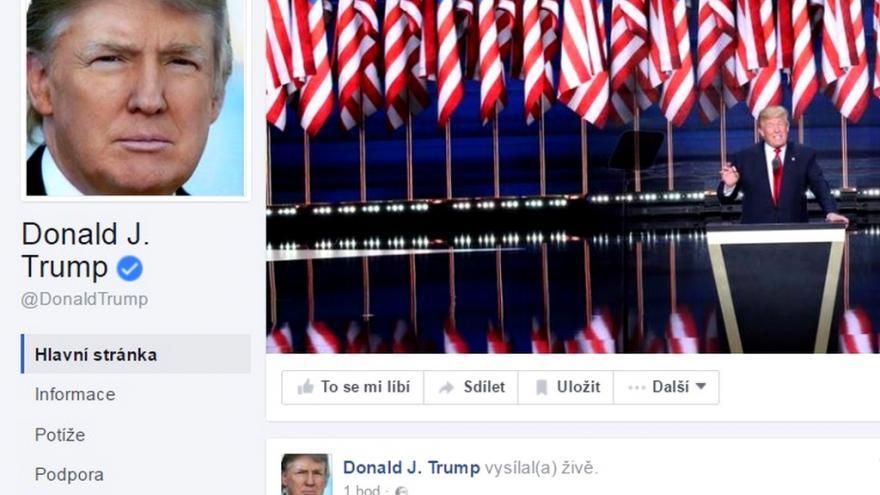 Video Z nuly na sto. Trump předčil Clintonovou i na sociálních sítích