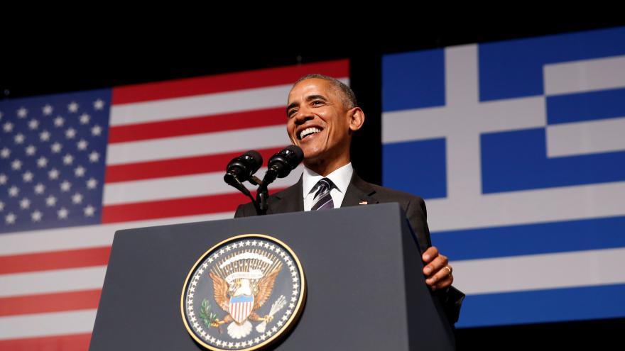 Video Projev Baracka Obamy v Řecku
