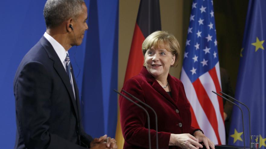 Video Angela Merkelová bude opět kandidovat