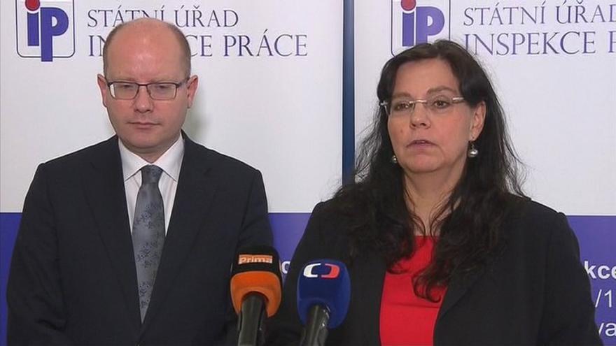 Video Sobotka a Marksová: S agenturami je stále problém