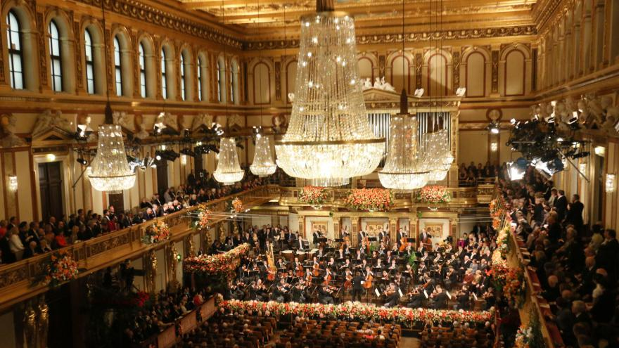Video Novoroční koncert Vídeňských filharmoniků 2017