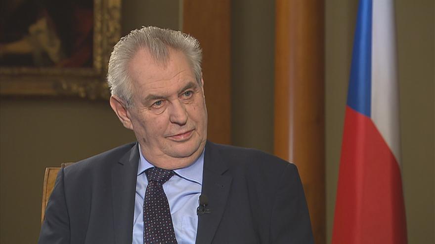 Video 90' ČT24 - Prezidentova role při sestavování vlády