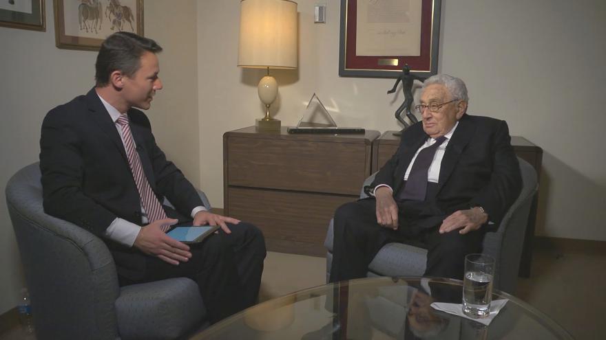 Video Interview ČT24 s Henrym Kissingerem (bez tlumočení)