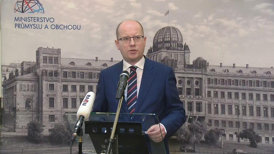 Video Sobotka představil priority na ministerstvu: Tlak na operátory i dostavbu Dukovan