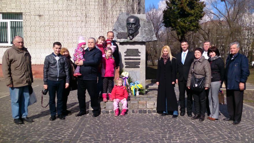 Video Připomenutí výročí narození Tomáše Garrigua Masaryka v ukrajinském Lvově