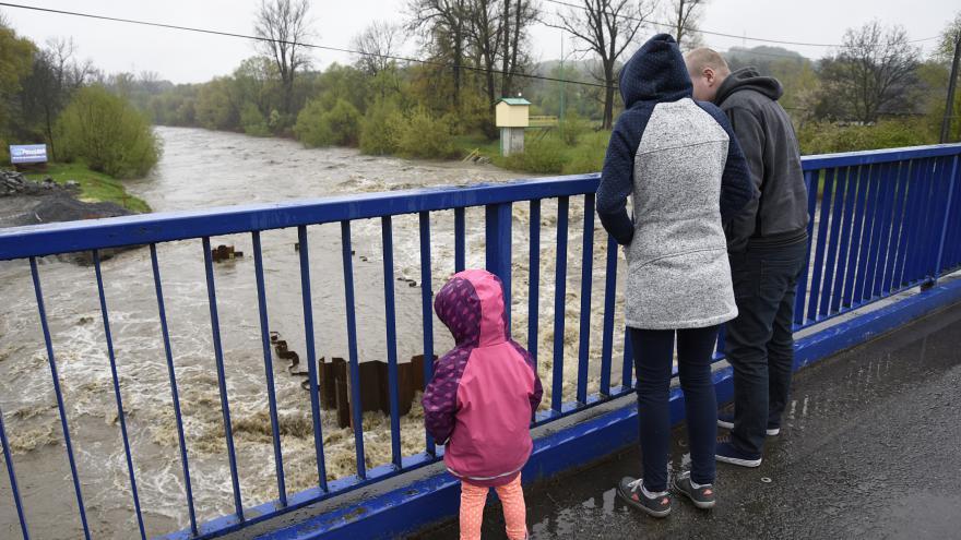 Video Meteorolog ČT Pavel Borovička k situaci na řekách a výhledu počasí