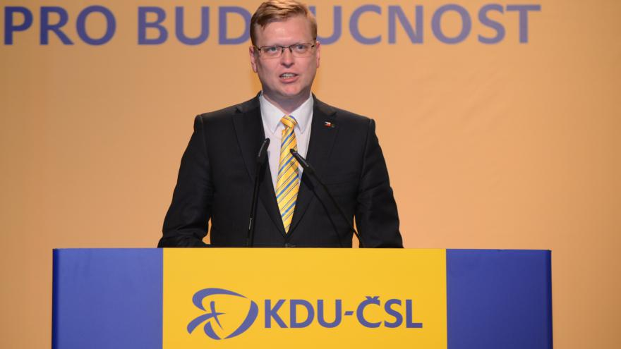 Video Kandidátský projev Pavla Bělobrádka: Pomáhá nám jednota