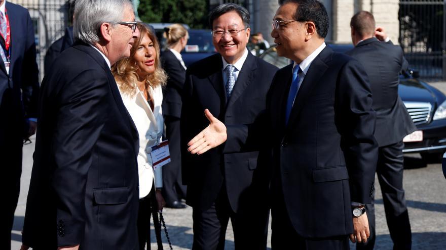 Video Společné vystoupení Tuska, Junckera a Keqianga ke klimatu