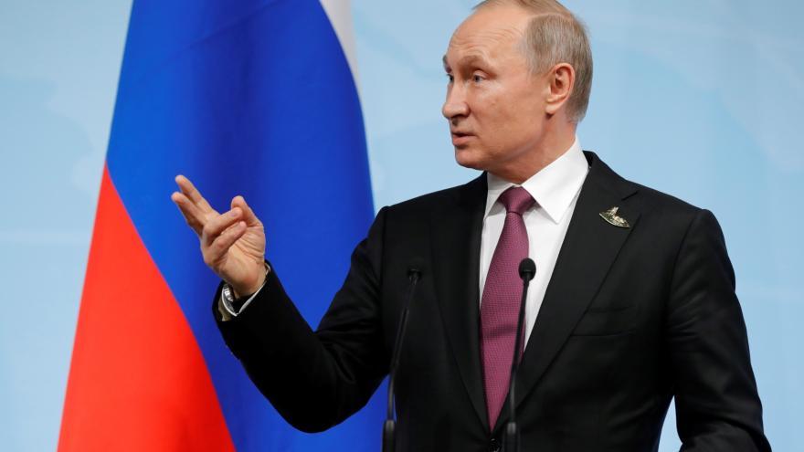 Video Vladimir Putin po summitu G20