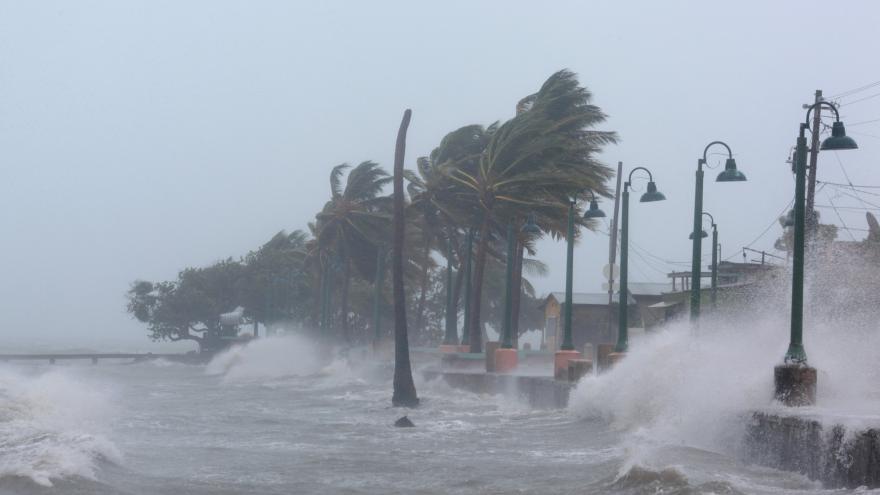 Video Francie řeší následky hurikánu