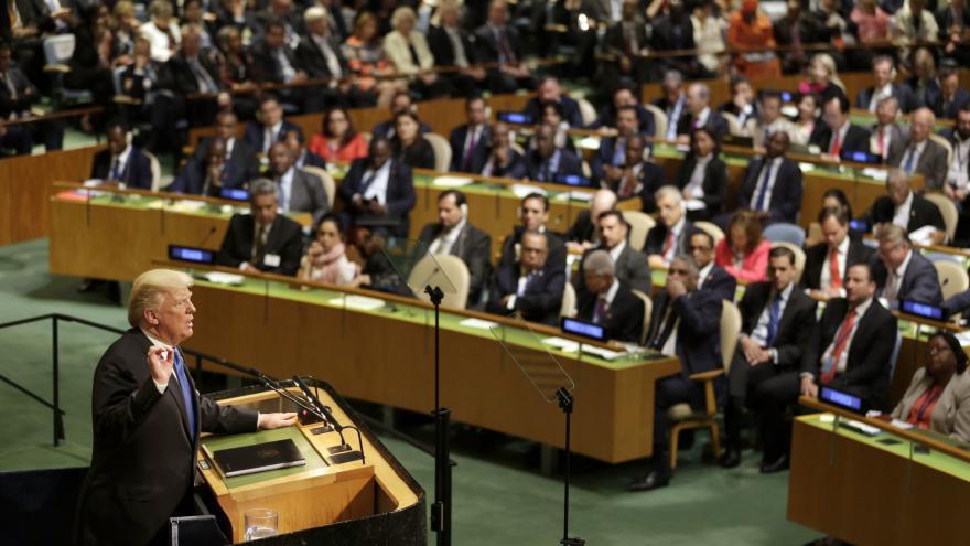 Video ŽIVĚ: Trumpův projev v OSN