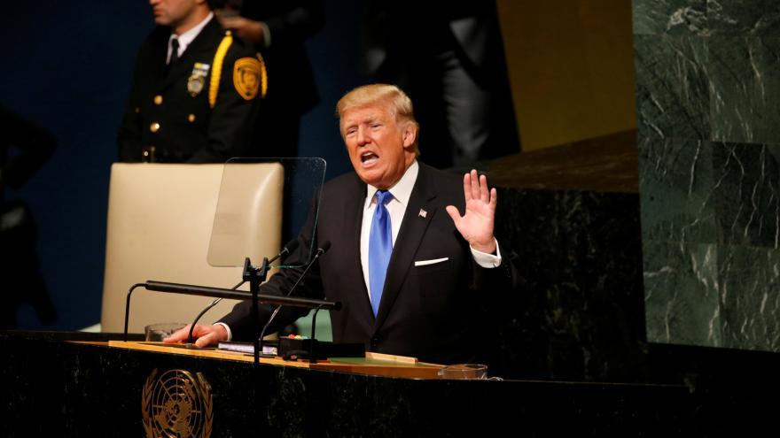 Video ŽIVĚ: Donald Trump oslovil světové státníky
