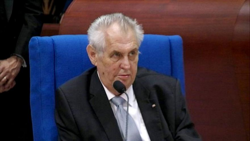 Video Projev prezidenta Zemana v Radě Evropy