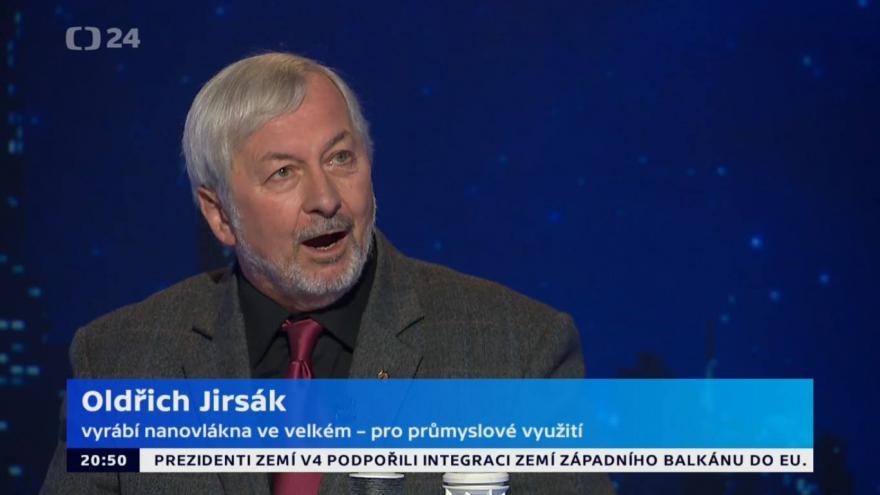 Video Hyde Park Civilizace - Oldřich Jirsák