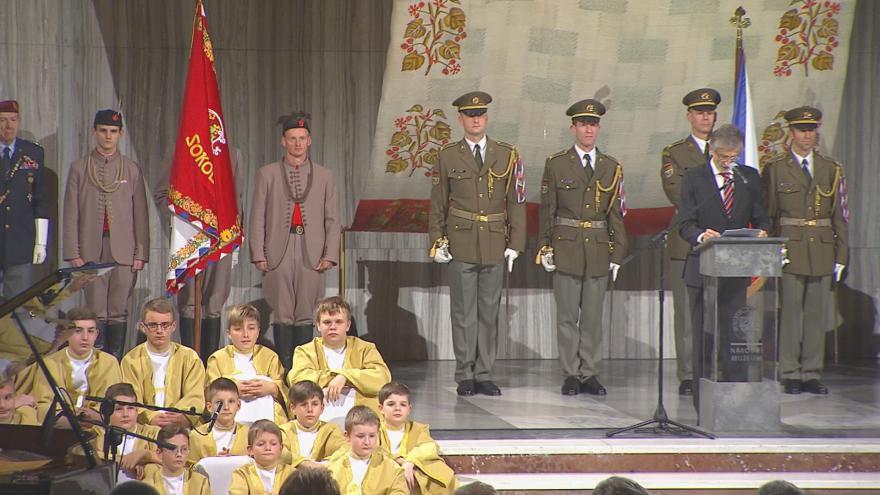 Video Slavnostní shromáždění k 99. výročí vzniku Československé republiky 2017