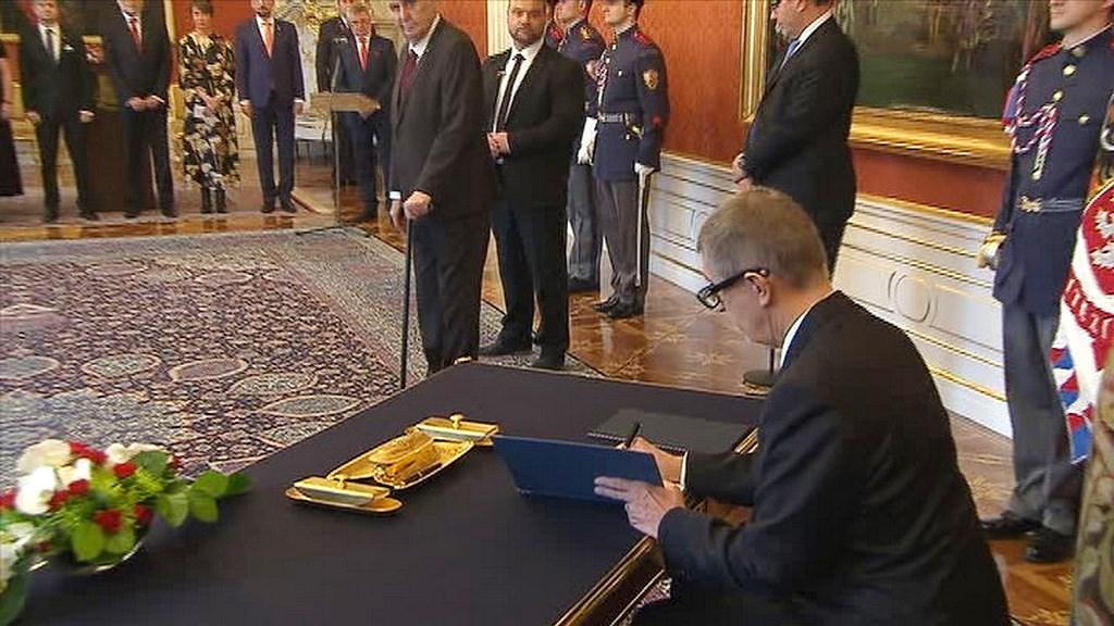 Video Slavnostní akt: Jmenování Andreje Babiše premiérem
