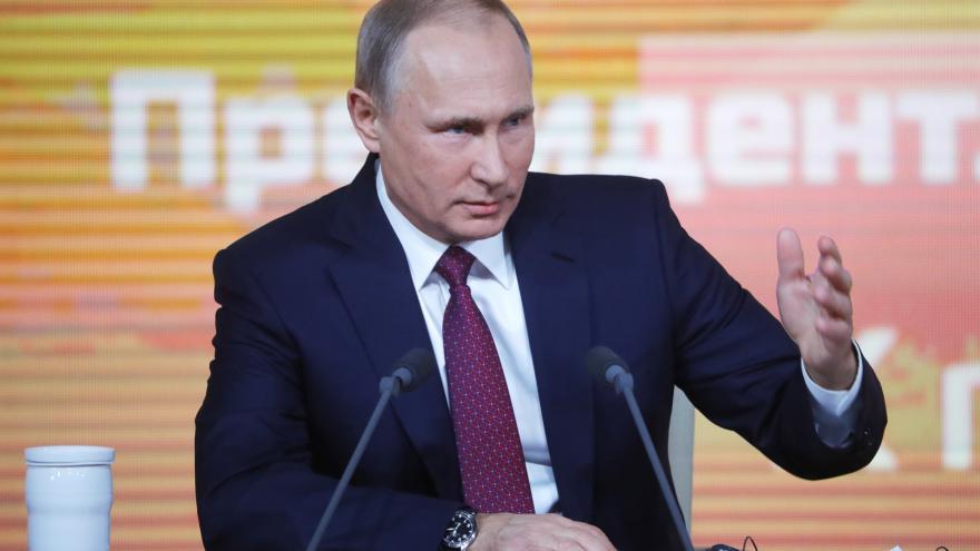 Video Bilanční tisková konference V. Putina