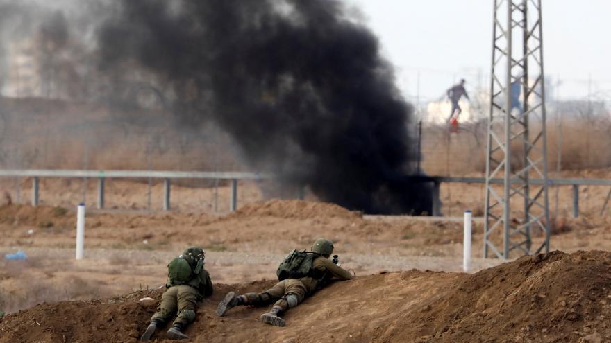 Video Na Západním břehu Jordánu a na hranicích Pásma Gazy propukly násilnosti