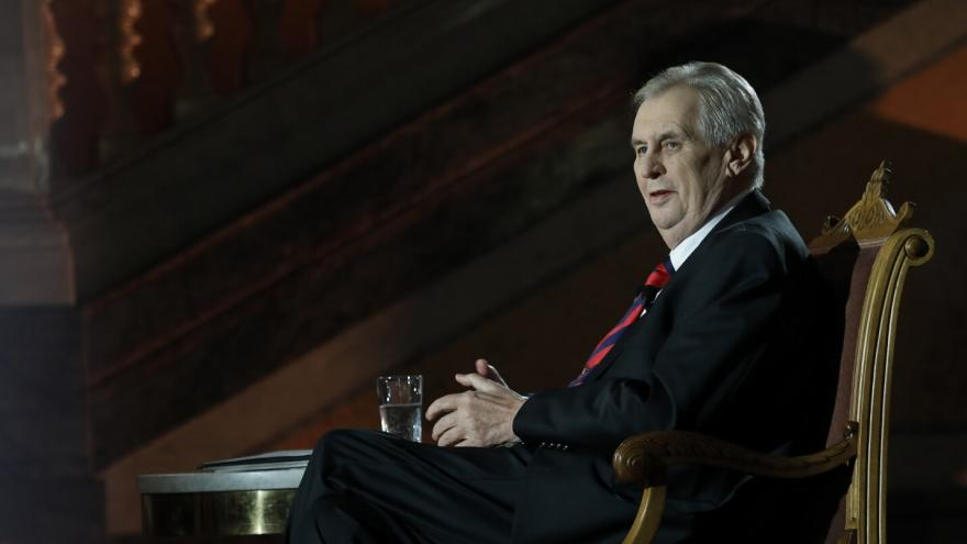 Video Události ČT: Zeman před složením slibu ještě stihne jmenovat soudce