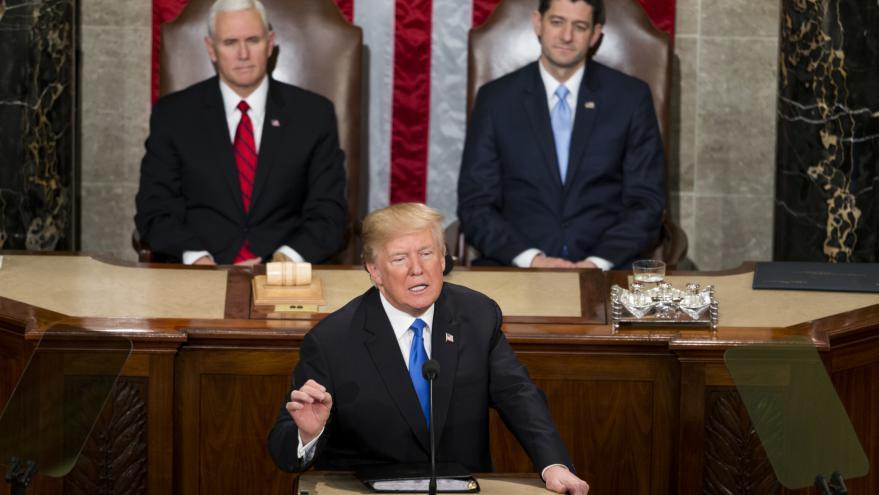 Video Poselství prezidenta Trumpa o stavu unie