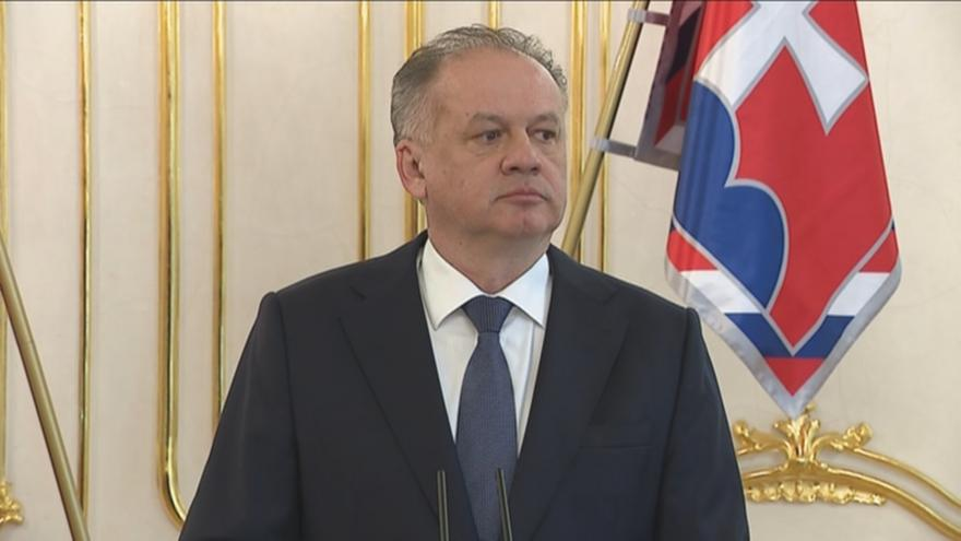 Video Projev slovenského prezidenta Andreje Kisky: Věci zašly příliš daleko
